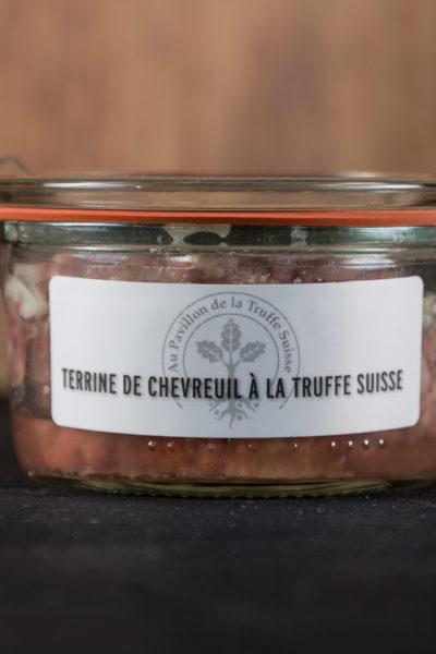 Terrine de chevreuil à la Truffe Suisse